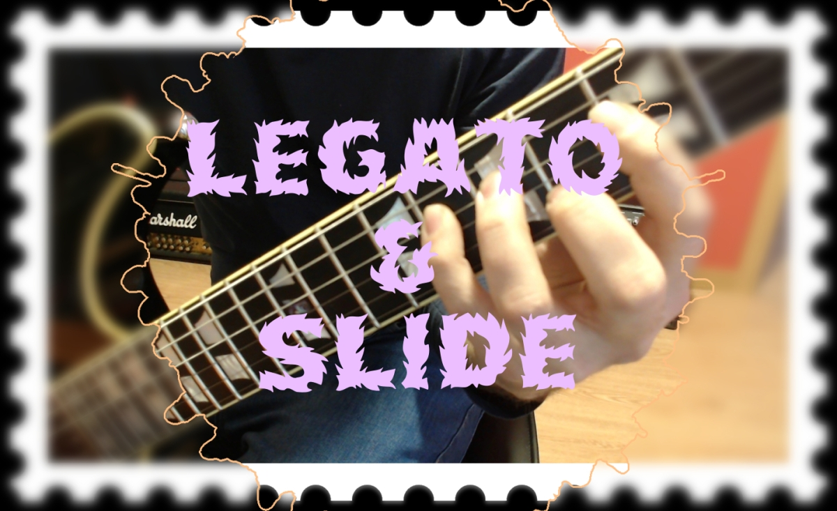 LEGATO & SLIDE (Escala menor natural)